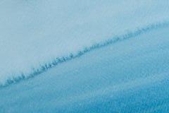 Abstrakcjonistyczna błękitna farba dla tła Zdjęcie Stock