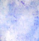Abstrakcjonistyczna błękitna grunge akwarela Obrazy Royalty Free
