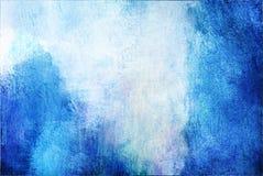 abstrakcjonistyczna błękitna i biała tekstura Obrazy Stock