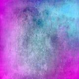 Abstrakcjonistyczna błękitna i purpurowa grunge tekstura dla tła Zdjęcie Stock