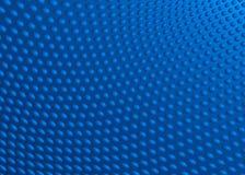 Abstrakcjonistyczna Błękitna kropka zawijasa tła ilustracja Fotografia Stock