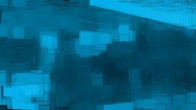 Abstrakcjonistyczna Błękitna mozaiki ściana ilustracji