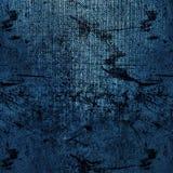 Abstrakcjonistyczna błękitna tło papieru tekstura Obraz Royalty Free