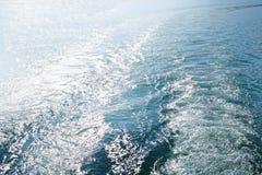 Abstrakcjonistyczna błękitne wody Może używać jako tło Obraz Royalty Free