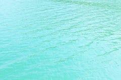 Abstrakcjonistyczna błękitne wody Może używać jako tło Zdjęcia Royalty Free