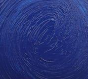 abstrakcjonistyczna błękitny akwarela Zdjęcia Royalty Free