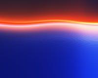 abstrakcjonistyczna błękitny czerwień zdjęcie royalty free
