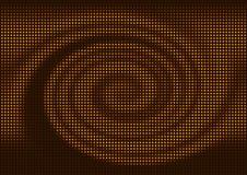 abstrakcjonistyczna backgroun mozaiki spirala Zdjęcia Stock