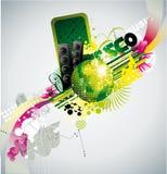 abstrakcjonistyczna balowa dyskoteka Obrazy Stock