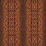 Abstrakcjonistyczna bezszwowa deseniowa ilustracja wichrowaci lampasy i wykładająca marmurem kształt tekstura ilustracja wektor