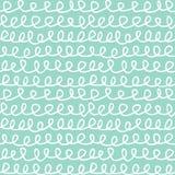 Abstrakcjonistyczna Bezszwowa Deseniowa ręka Rysująca kępki Doodle tekstura Zdjęcia Royalty Free