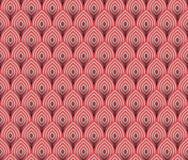 Abstrakcjonistyczna bezszwowa fala paskuje wzory, Wielostrzałowych tekstur płytek wektorowy projekt Zdjęcia Stock