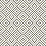 Abstrakcjonistyczna bezszwowa geometryczna monochromatyczna przekątna Obrazy Royalty Free