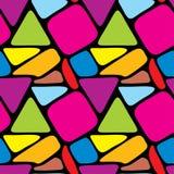 abstrakcjonistyczna bezszwowa tekstura Obraz Stock
