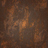 Abstrakcjonistyczna bezszwowa tekstura rdzewiejący metal Zdjęcia Stock