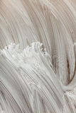 Abstrakcjonistyczna biała ręka malujący tło Fotografia Royalty Free