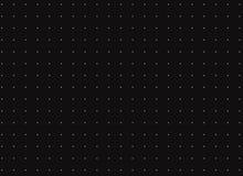 Abstrakcjonistyczna biała kropka na czarnym tle Zdjęcie Stock