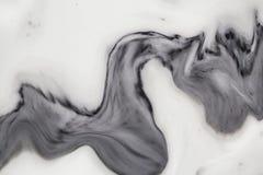 Abstrakcjonistyczna bielu marmuru tekstury ściana dla projekta wzór dla tła lub skóry luksusowego produktu Obraz Stock