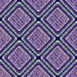 Abstrakcjonistyczna broderia kształtuje geometrycznego bezszwowego wzór wektor ilustracja wektor