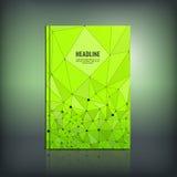Abstrakcjonistyczna broszurka 03 A Zdjęcia Royalty Free