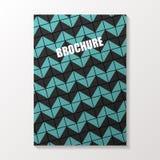 abstrakcjonistyczna broszurka Ulotki lub książkowej pokrywy projekt wektor Zdjęcie Royalty Free