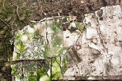 Abstrakcjonistyczna budynku gnicia tekstura obraz stock