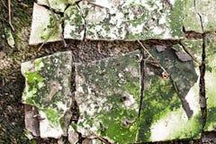 Abstrakcjonistyczna budynku gnicia tekstura zdjęcia stock