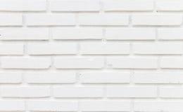Abstrakcjonistyczna ceglana biel ściana Obrazy Royalty Free