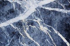 Abstrakcjonistyczna ceramika zmrok - błękit i biel barwimy fotografia royalty free