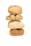abstrakcjonistyczna chlebowa rolka Obrazy Royalty Free