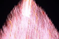 Abstrakcjonistyczna choinka w czerwone światło ruchu 1 Zdjęcia Stock