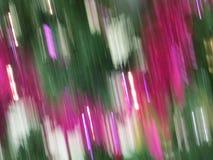 Abstrakcjonistyczna choinki dekoracja Zdjęcie Royalty Free
