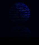 Abstrakcjonistyczna cyfrowa sfera Obraz Stock