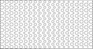 Abstrakcjonistyczna czarna tło tekstura Halftone skutek Obraz Stock
