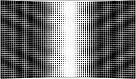 Abstrakcjonistyczna czarna tło tekstura Halftone skutek Obraz Royalty Free