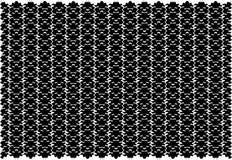 Abstrakcjonistyczna czarna tło tekstura Halftone skutek fotografia stock