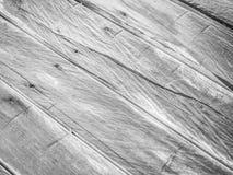 Abstrakcjonistyczna czarny i biały drewniana tekstura Obraz Royalty Free