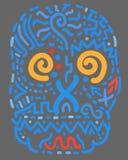 abstrakcjonistyczna czaszka Zdjęcia Royalty Free