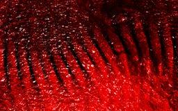 Abstrakcjonistyczna czerwień cienił kruszcowego textured tło z oświetleniowymi skutkami Tło, tapeta zdjęcia stock