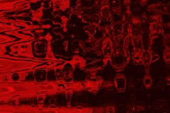 Abstrakcjonistyczna czerwień zabarwia tło z grunge teksturą Obraz Royalty Free