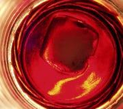 Abstrakcjonistyczna czerwień Zdjęcie Royalty Free