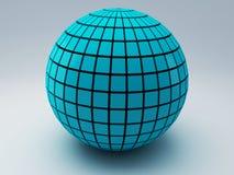 Abstrakcjonistyczna 3d sfera ilustracja wektor