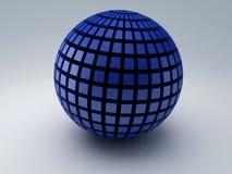 Abstrakcjonistyczna 3d sfera ilustracji