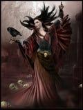 abstrakcjonistyczna dancingowa ilustraci inc kobieta Zdjęcie Stock