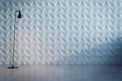 Abstrakcjonistyczna dekoracyjna biel ściana fotografia stock