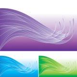 abstrakcjonistyczna deseniowa kipiel Obrazy Stock