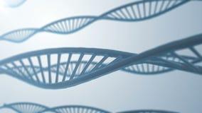 Abstrakcjonistyczna DNA molekuły pętla royalty ilustracja
