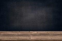 Abstrakcjonistyczna drewniana stołowa tekstura, kreda nacierająca out na blackboard i grafika, dodajemy produkt, edukaci pojęcie, obrazy stock