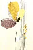 Abstrakcjonistyczna drzewna biała tapeta Zdjęcia Royalty Free