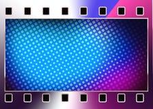 Abstrakcjonistyczna ekranowa rama. ilustracja wektor